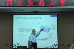 Invited Talk in Zian JT U 2